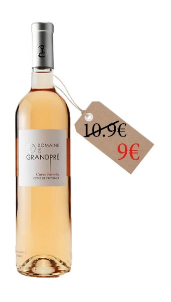 Domaine Grandpré - Cuvée Favorite - 2020 - 75cl